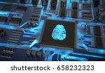artificial intelligence... | Shutterstock . vector #658232323