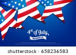 fourth of july. 4th of july...   Shutterstock .eps vector #658236583