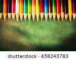 back to school background | Shutterstock . vector #658243783