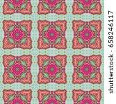 vintage seamless pattern... | Shutterstock . vector #658246117