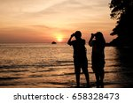 photographers are shooting... | Shutterstock . vector #658328473