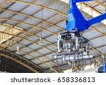 view of gripper unit on... | Shutterstock . vector #658336813
