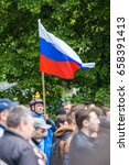 Small photo of 12 June 2017. Ufa. Russia. Russian opposition anti-corruption protest demonstration against against corruption under the lead of opposite politician Alexey Navalny.