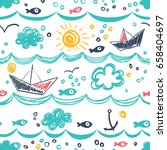 Seamless Pattern In The Concep...