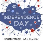 independence day. polynesian... | Shutterstock .eps vector #658417357