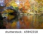 autumn at ogwen bank near... | Shutterstock . vector #65842318