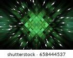 abstract dynamic green... | Shutterstock . vector #658444537