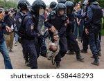 saint petersburg  russia  june... | Shutterstock . vector #658448293