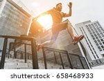 full of energy. full length of... | Shutterstock . vector #658468933
