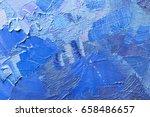 abstract oil paint texture on...   Shutterstock . vector #658486657