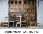 Four Chairs And Farm...