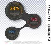 vector infographics layout step ... | Shutterstock .eps vector #658494583