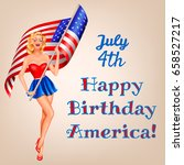 independence day in usa 4th of... | Shutterstock .eps vector #658527217