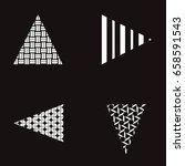 illustration of abstract design ... | Shutterstock . vector #658591543