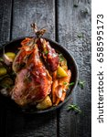 Grilled Pheasant With Bacon An...