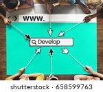 website develop design template ...
