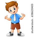 vector illustration of a cute...   Shutterstock .eps vector #658620403