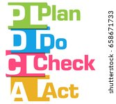 pdca abstract colorful stripes  | Shutterstock . vector #658671733