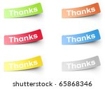 stickers | Shutterstock . vector #65868346