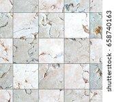 marble tiles seamless texture... | Shutterstock . vector #658740163
