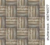 seamless parquet floor texture... | Shutterstock . vector #658740577