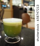 Small photo of Drinking Booster : Lettuce, Onion, Celery, Green Apple, Honey, Lemon, Soy Bean and Flax seed