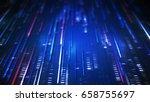 data transfer. abstract... | Shutterstock . vector #658755697