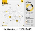 futuristic infographic.... | Shutterstock .eps vector #658817647