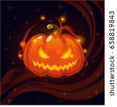 cartoon fantasy magic icon for... | Shutterstock .eps vector #658819843