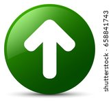 upload arrow icon isolated on... | Shutterstock . vector #658841743