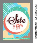 abstract colorful poster ... | Shutterstock .eps vector #658859923