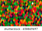 light multicolor  rainbow... | Shutterstock .eps vector #658869697