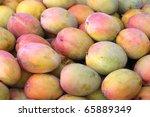 Ripe Mango Display