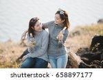 summer  holidays  vacation ... | Shutterstock . vector #658897177