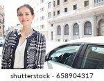 portrait of beautiful classic... | Shutterstock . vector #658904317