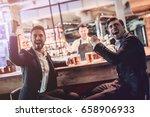 handsome businessmen are... | Shutterstock . vector #658906933