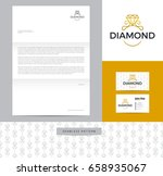 ring with diamond identity... | Shutterstock .eps vector #658935067