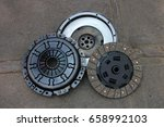 nicely rebuilt clutch and... | Shutterstock . vector #658992103