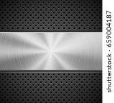 black abstract technology... | Shutterstock .eps vector #659004187
