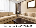 rest area with sofa | Shutterstock . vector #659004697