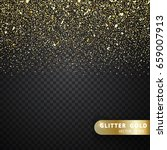 vector luxury black background... | Shutterstock .eps vector #659007913