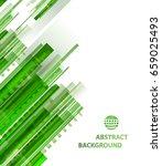 technology abstract green... | Shutterstock . vector #659025493