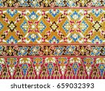 Traditional Thai Fabric Patter...