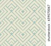 wicker seamless pattern on... | Shutterstock .eps vector #659070067