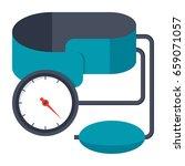 blood pressure kit vector...   Shutterstock .eps vector #659071057