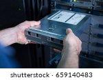 close up of a blade server...   Shutterstock . vector #659140483