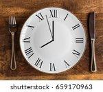 eight hour feeding window... | Shutterstock . vector #659170963