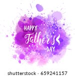 watercolor imitation purple... | Shutterstock .eps vector #659241157