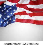 closeup of american flag on... | Shutterstock . vector #659280223