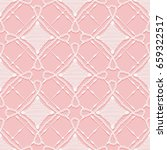seamless lace pattern.... | Shutterstock . vector #659322517